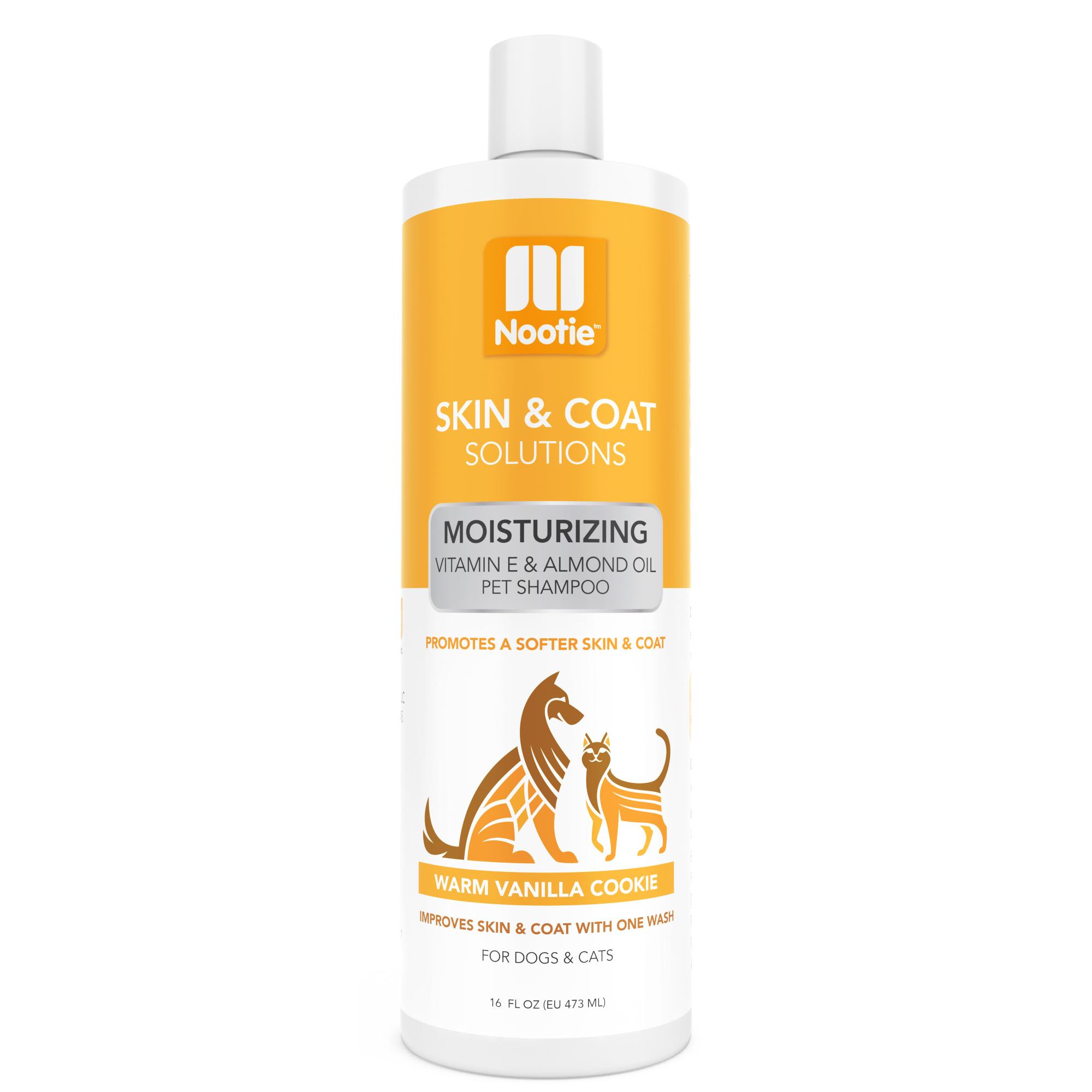Nootie Warm Vanilla Cookie Moisturizing Formula Dog Shampoo, 16-oz bottle