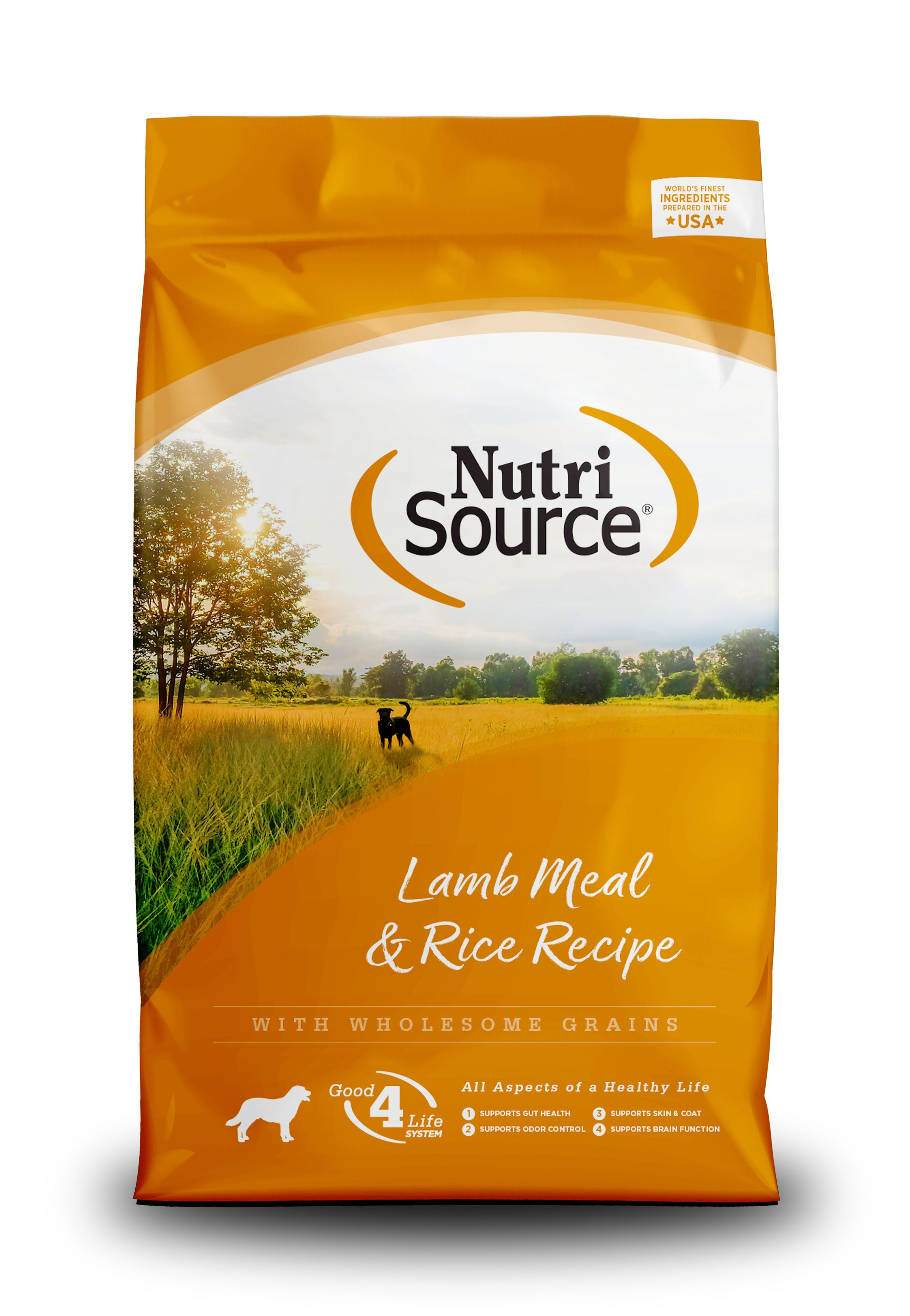 NutriSource Adult Lamb and Rice Dry Dog Food Image