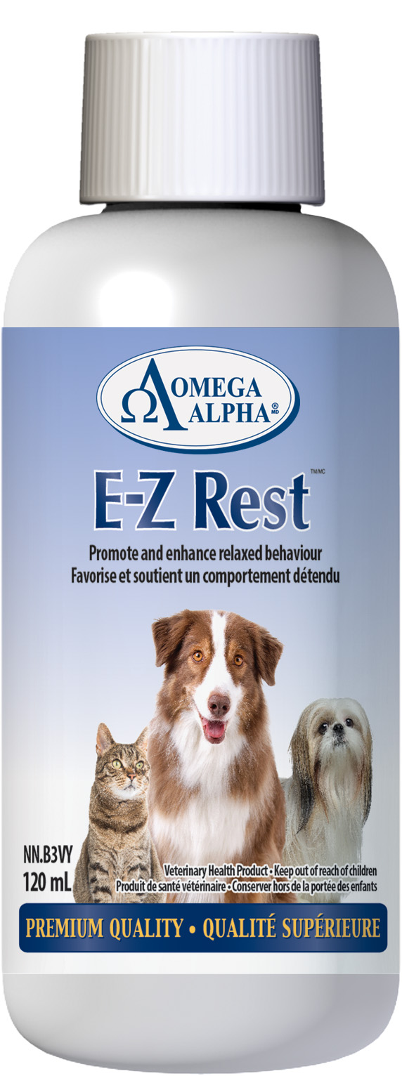 Omega Alpha E-Z Rest Supplement, 120-ml