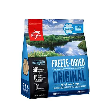 ORIJEN Original Freeze-Dried Dog Food, 6-oz