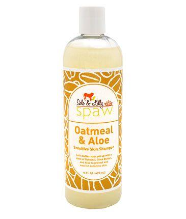 Solo & Lilly Spaw Oatmeal & Aloe Sensitive Skin Dog Shampoo, 16-oz