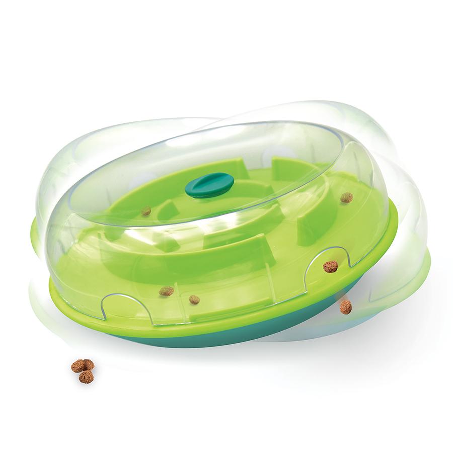 Outward Hound Nina Ottoson - Wobble Bowl Treat Dispensing Puzzle Dog Toy