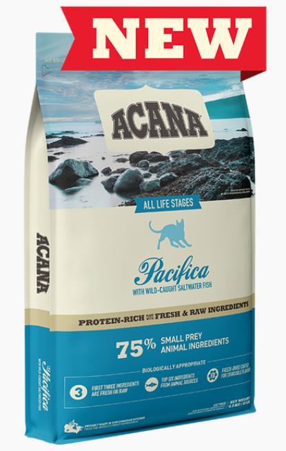 ACANA Pacifica Dry Cat Food, 4.5-kg