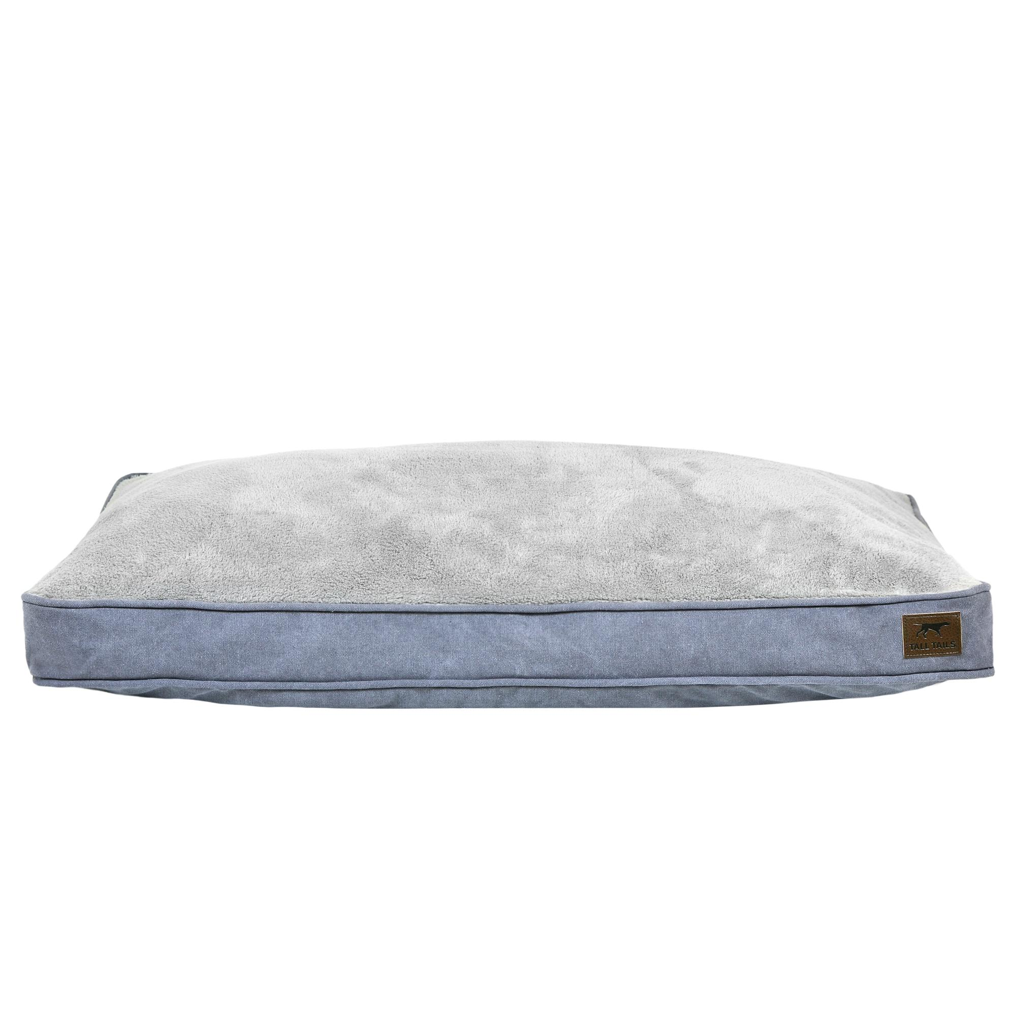 Tall Tails Dream Chaser Cushion Dog Bed, Charcoal, Medium