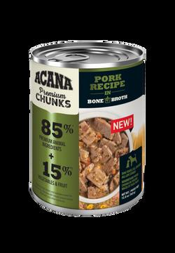 ACANA Grain Free Pork in Bone Broth Wet Dog Food Image