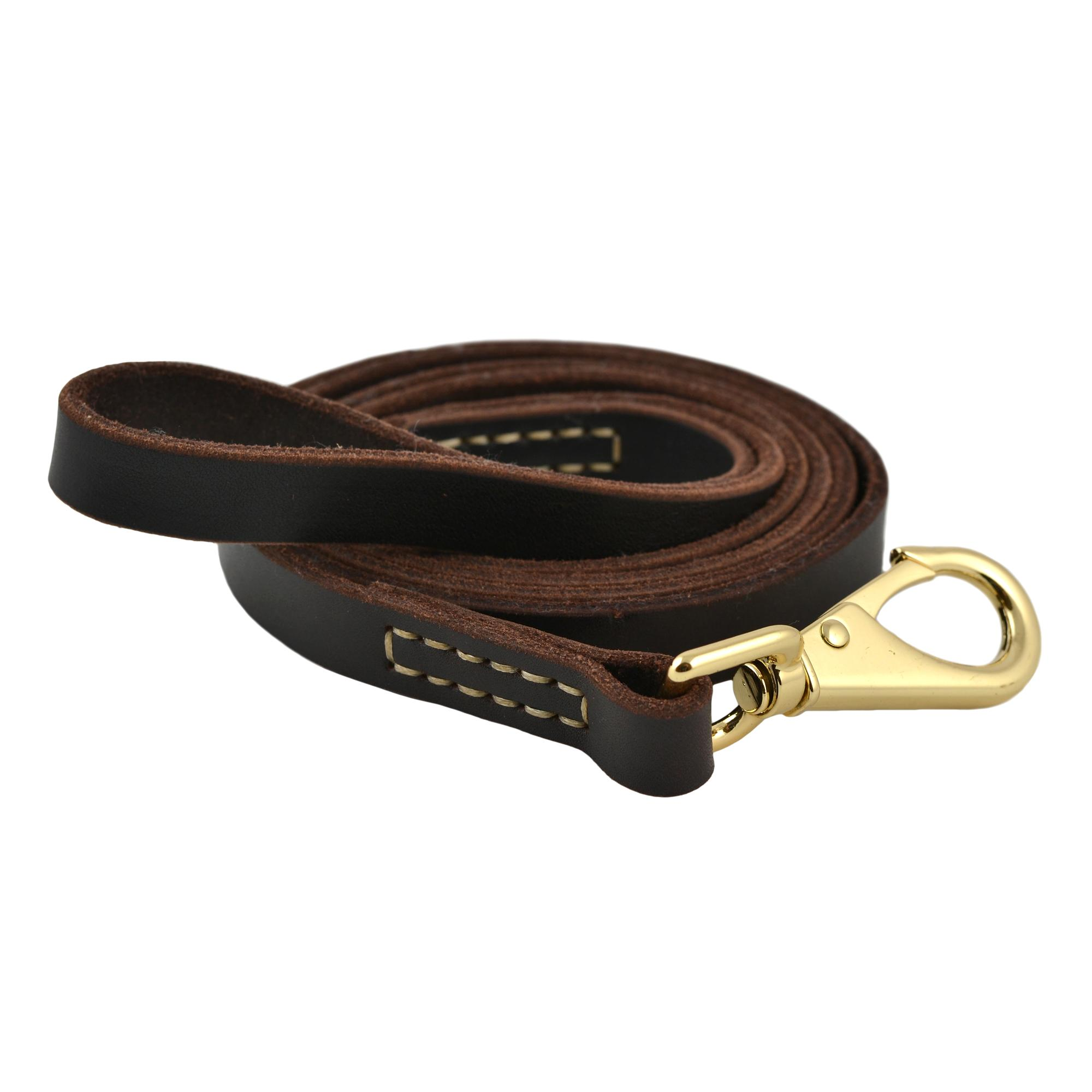 Tall Tails Genuine Leather Dog Leash, Large