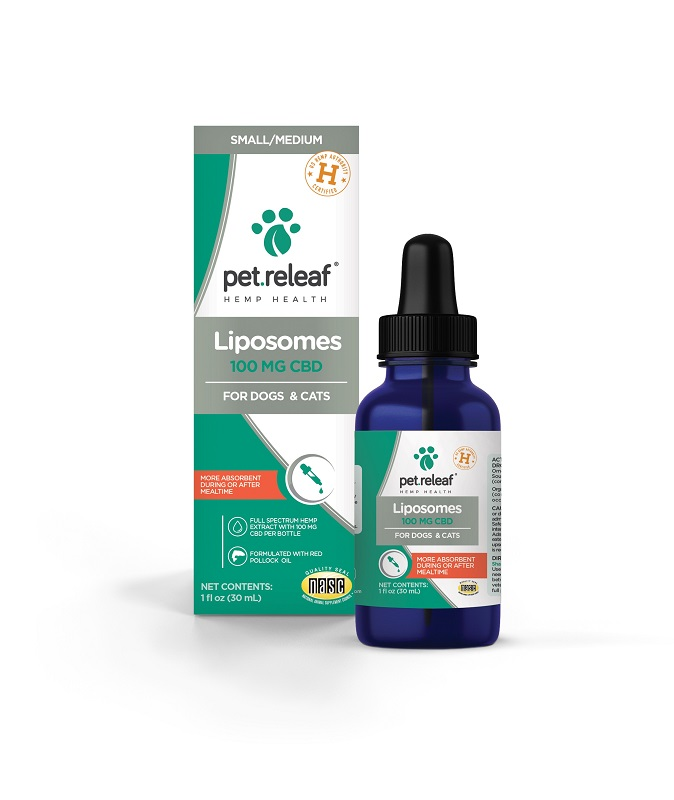 Pet Releaf Professional Liposome Oil 100 for Dogs & Cats