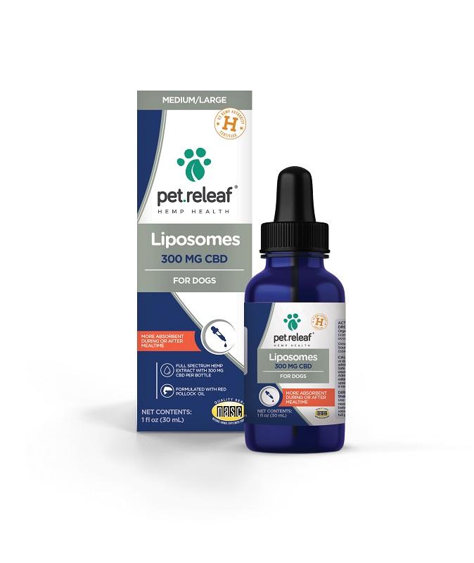 Pet Releaf Liposome Oil Dog & Cat Supplement, 300mg