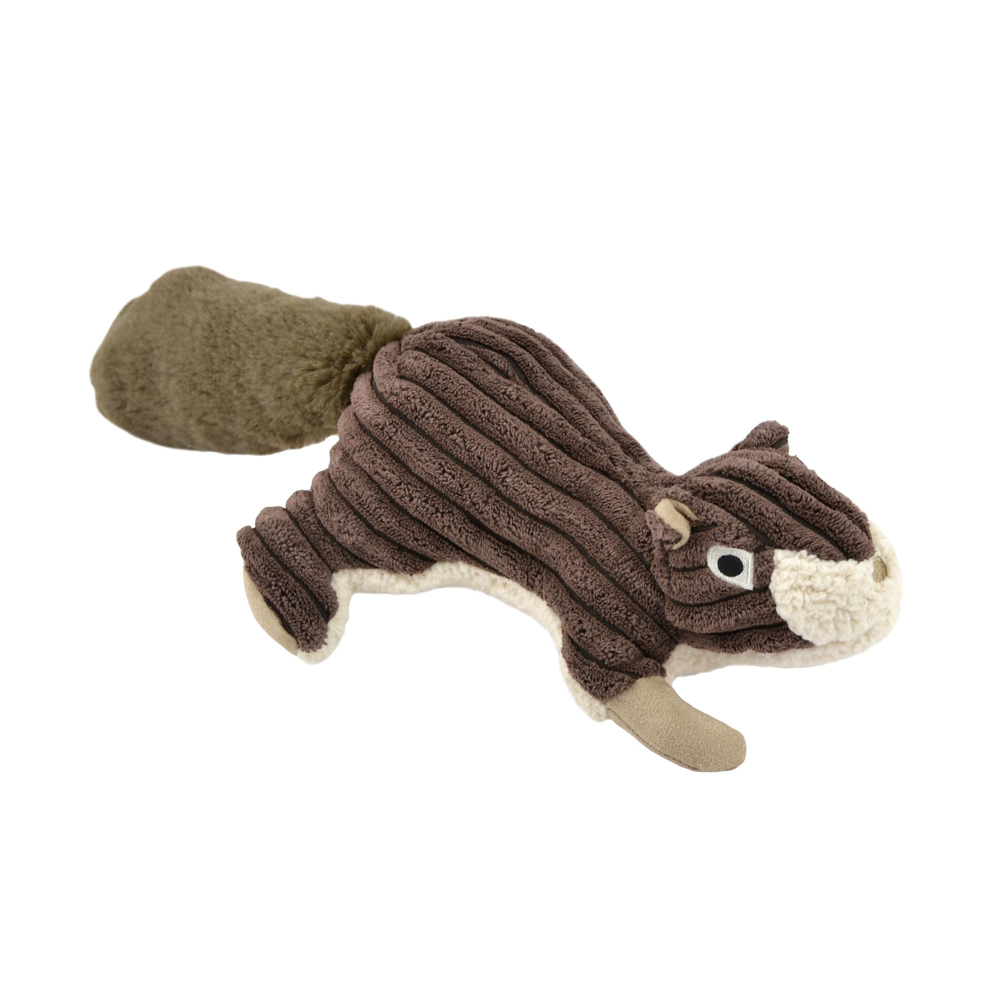 Tall Tails Squirrel Squeaker Dog Toy, 12-in