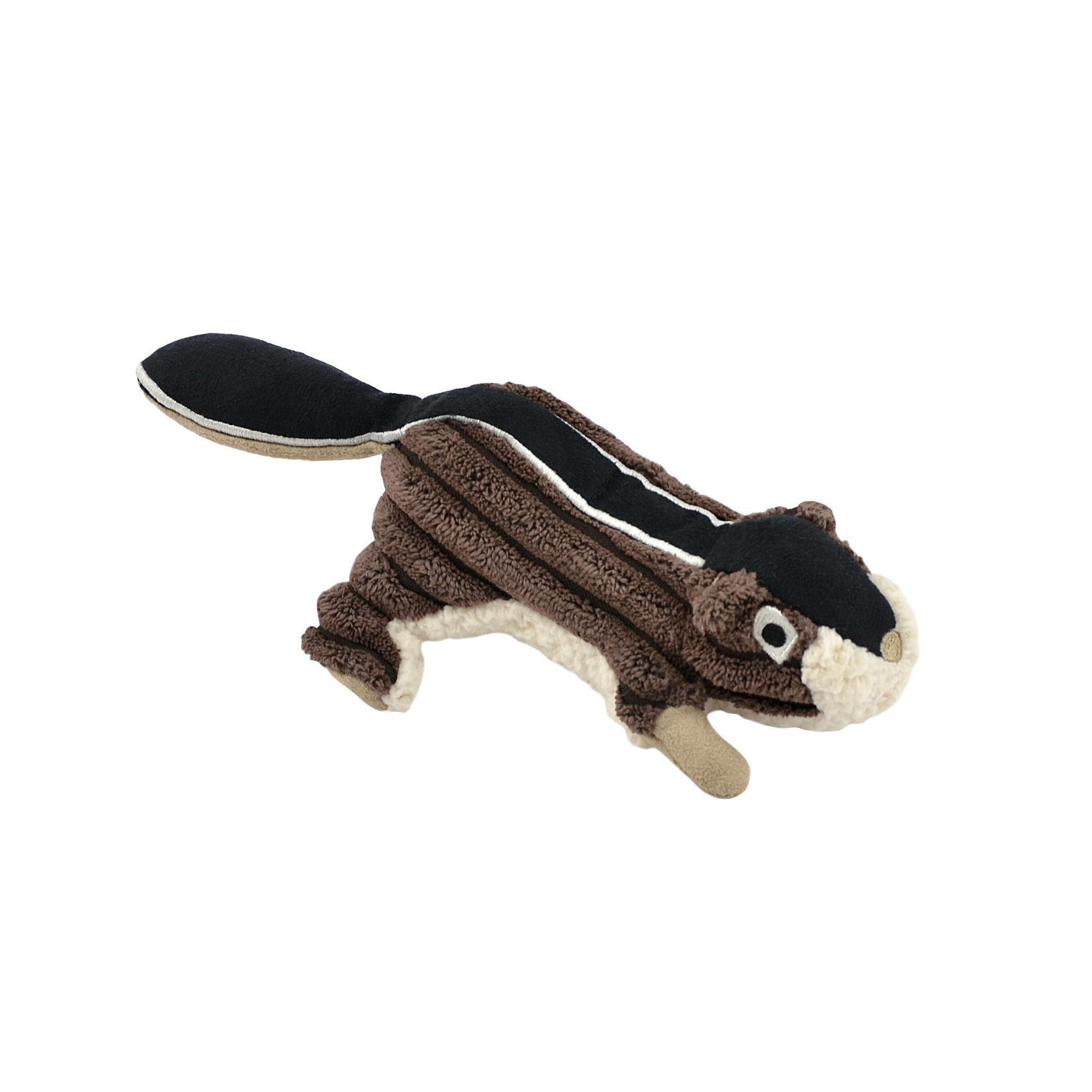 Tall Tails Chipmunk with Squeaker Plush Dog Toy, 5-in (Size: 5-in) Image
