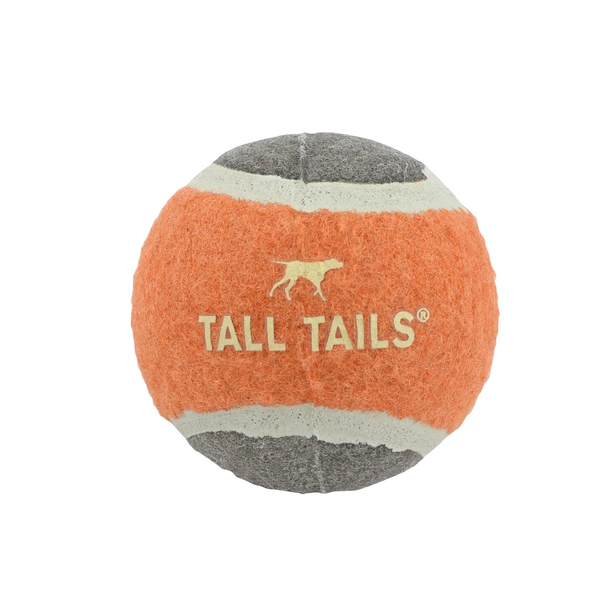 Tall Tails Sport Tennis Ball Dog Toy, 2-in
