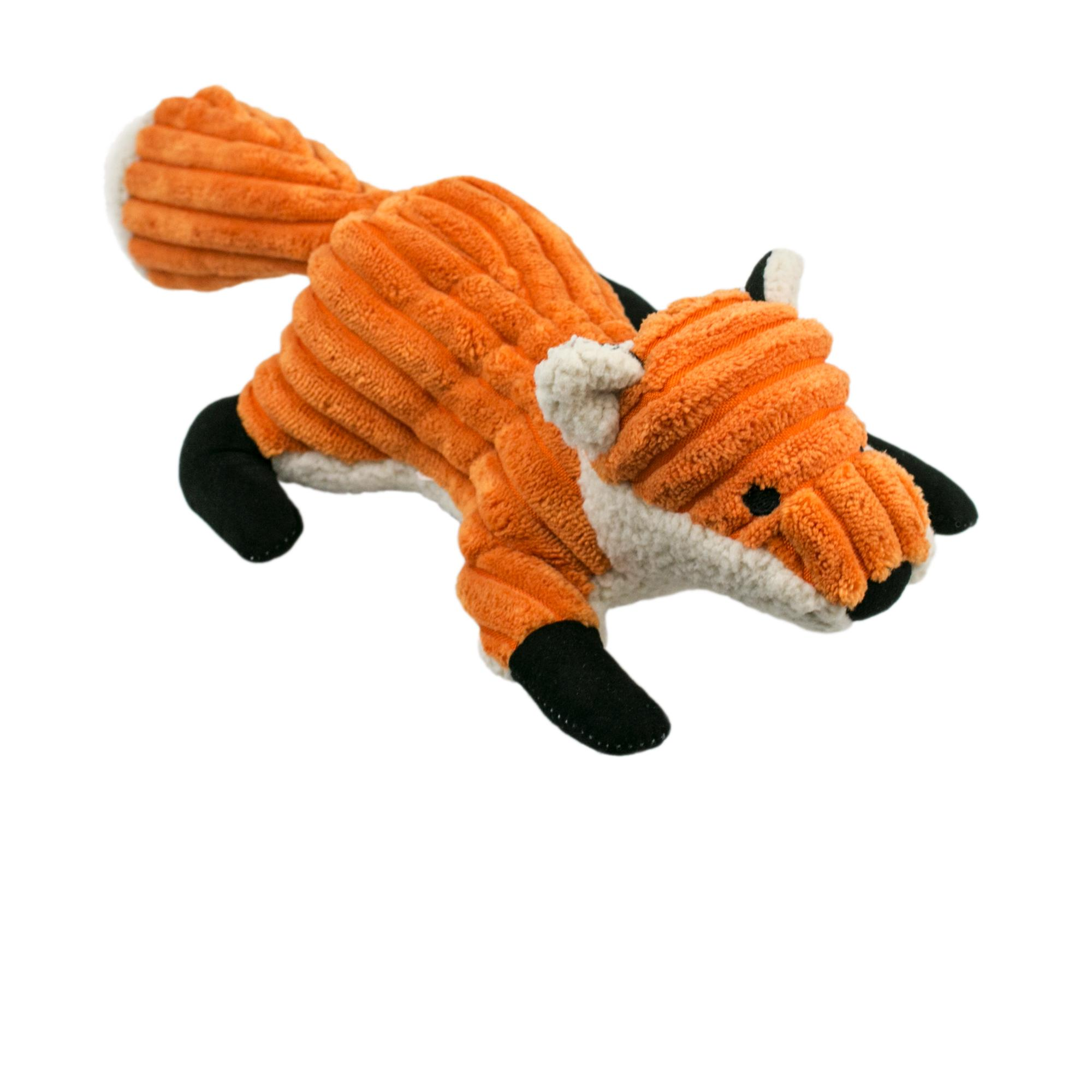 Tall Tails Fox Squeaker Dog Toy, 12-in