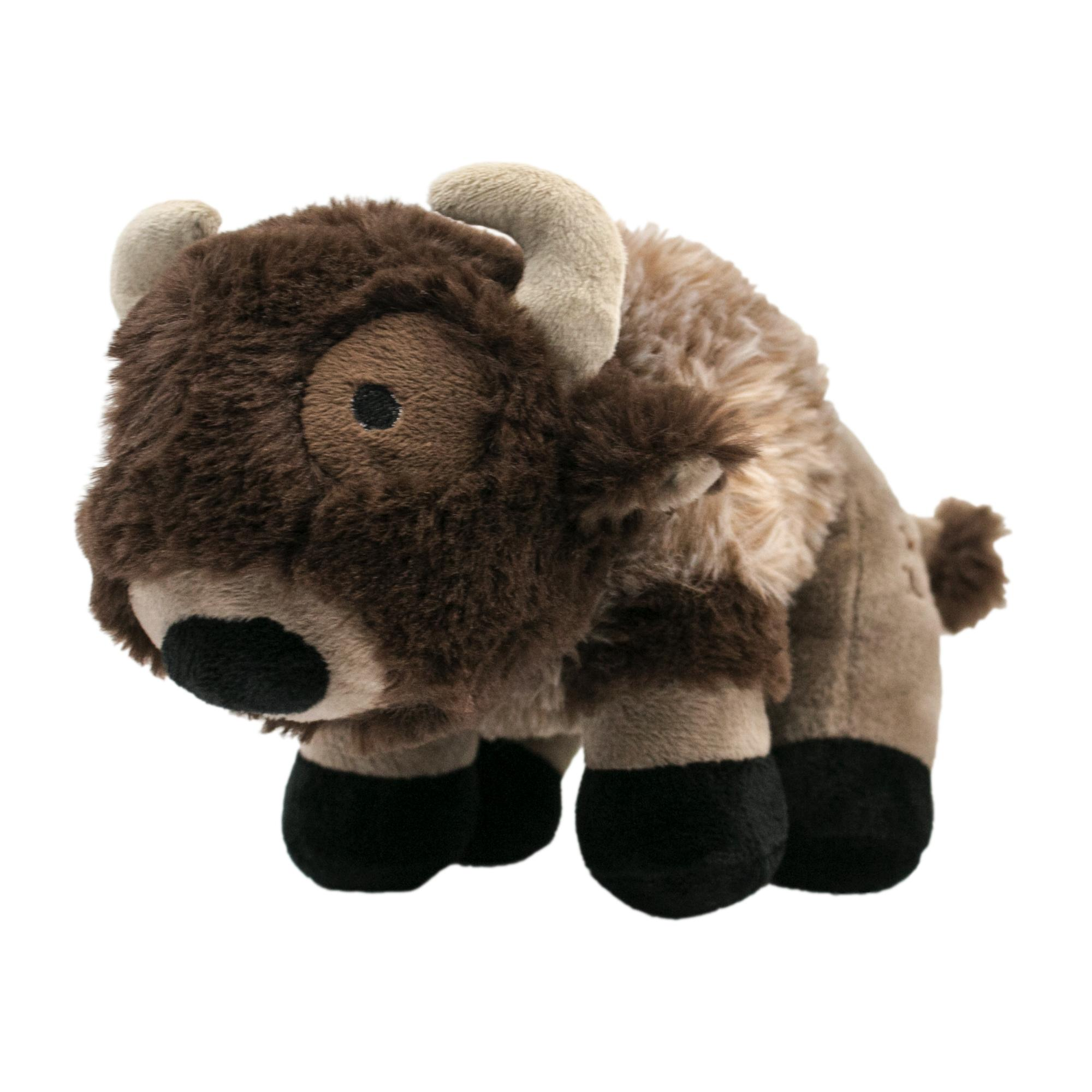 Tall Tails Buffalo Squeaker Dog Toy, 9-in (Size: 9-in) Image