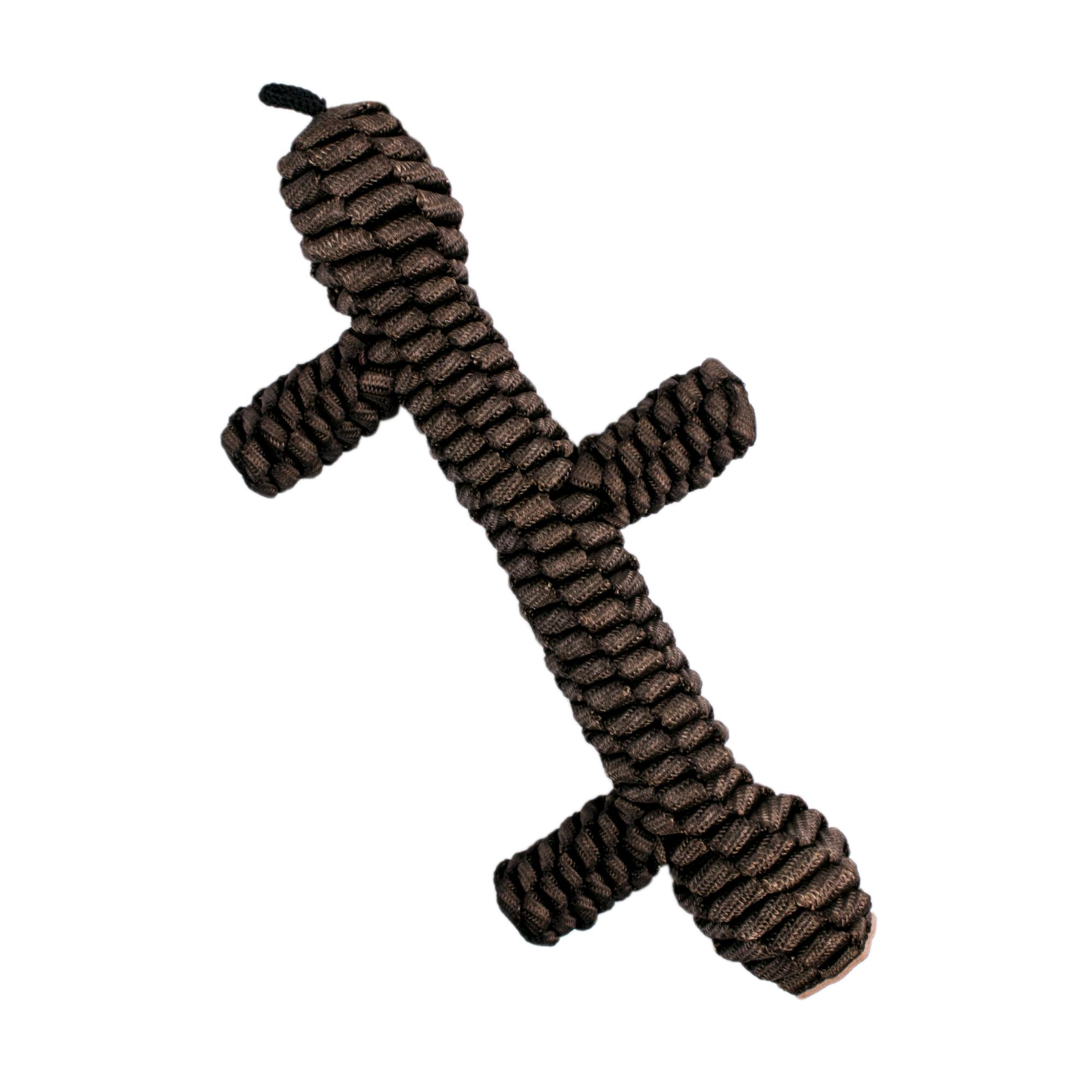 Tall Tails Braided Stick Dog Toy, Brown, 9-in (Size: 9-in) Image