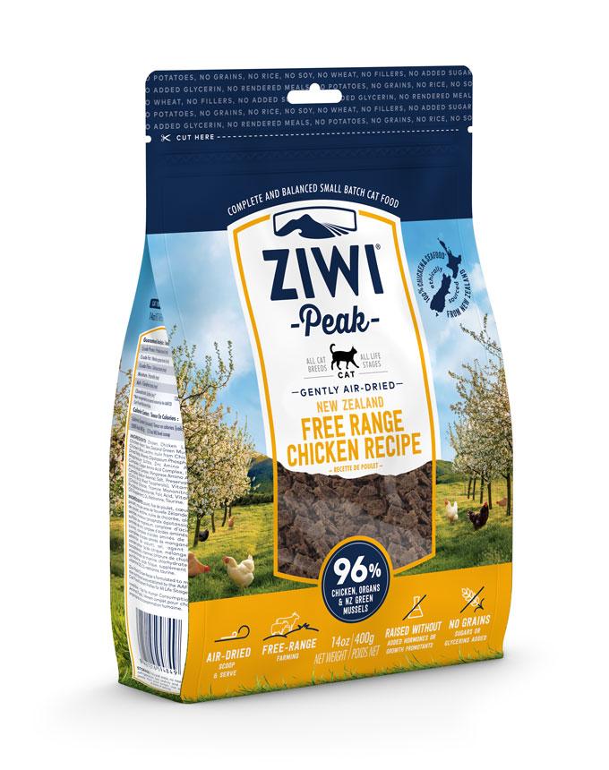 ZIWI Peak Air-Dried Cat Food Chicken Recipe, 14-oz|400-g