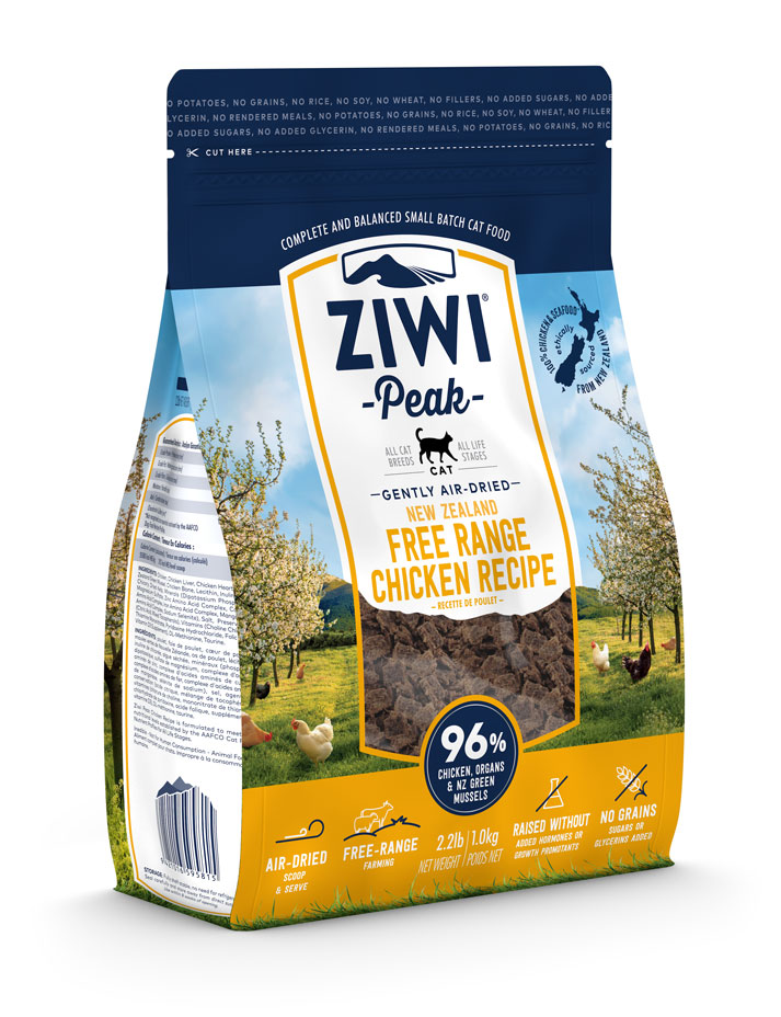 ZIWI Peak Air-Dried Cat Food Chicken Recipe, 2.2-lb