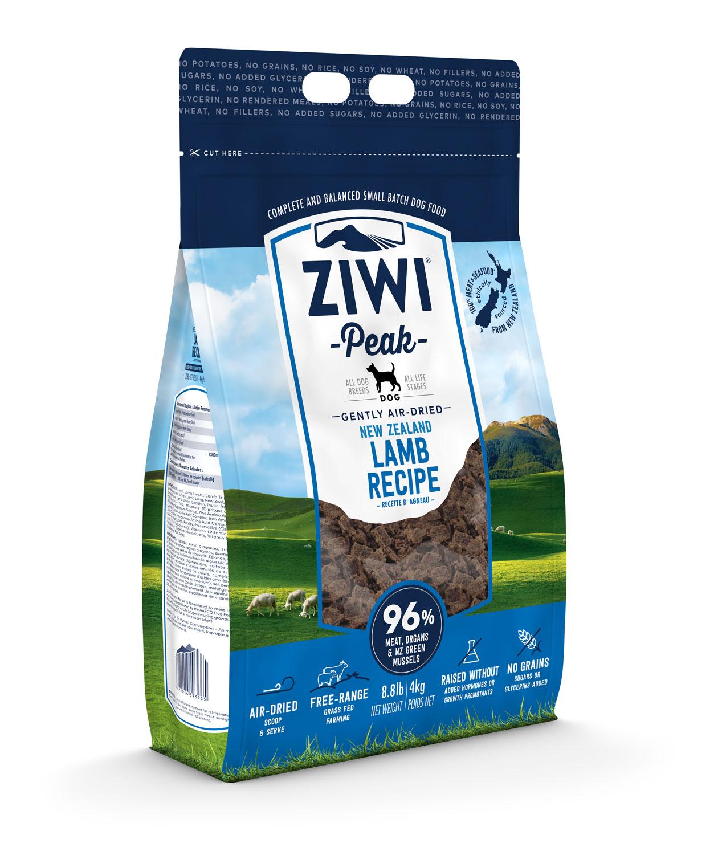 ZIWI Peak Air-Dried Dog Food Lamb Recipe, 8.8-lb