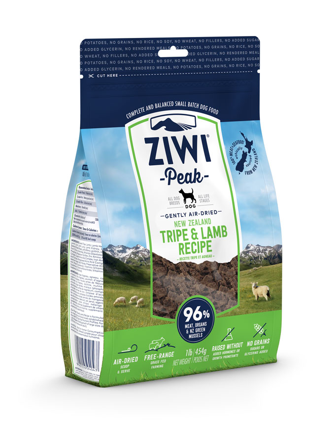 ZIWI Peak Air-Dried Dog Food Tripe & Lamb Recipe Image