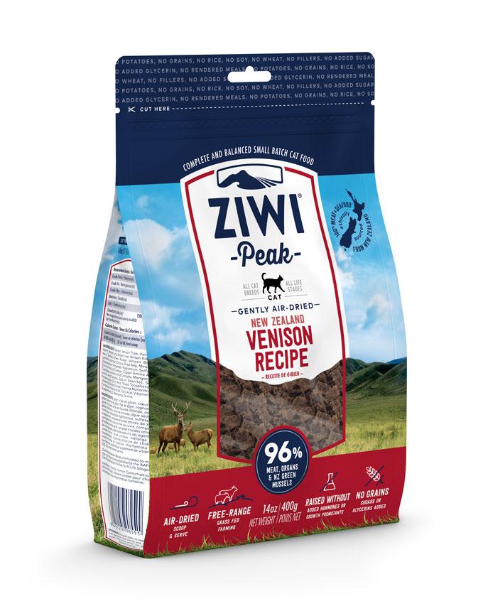 ZIWI Peak Air-Dried Cat Food Venison Recipe, 14-oz