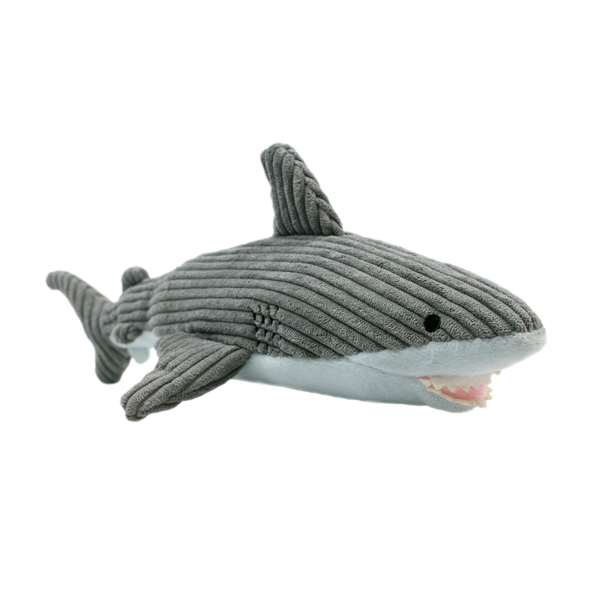Tall Tails Crunch Shark Dog Toy, 12-in.