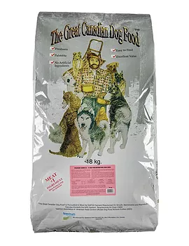 The Great Canadian Dog Food Premium Canine Dry Food, 18-kg
