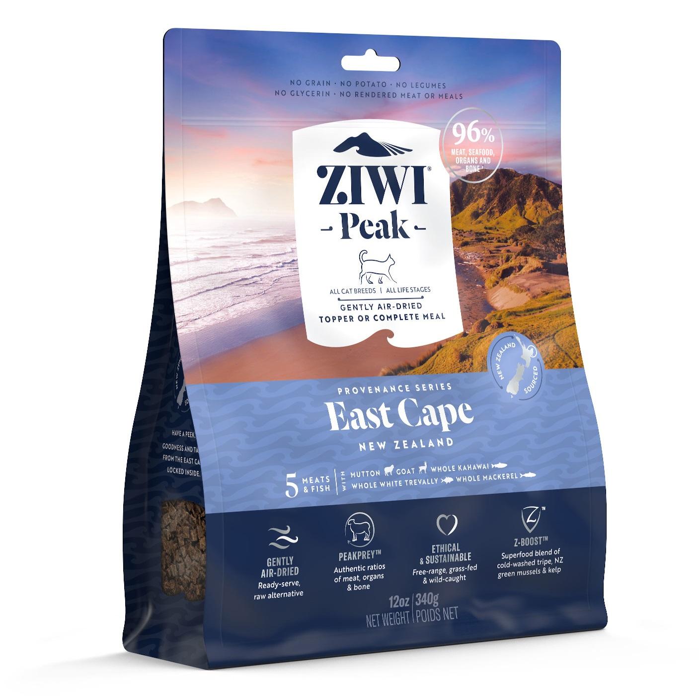 ZIWI Peak Provenance Air-Dried Cat Food East Cape Recipe, 12-oz