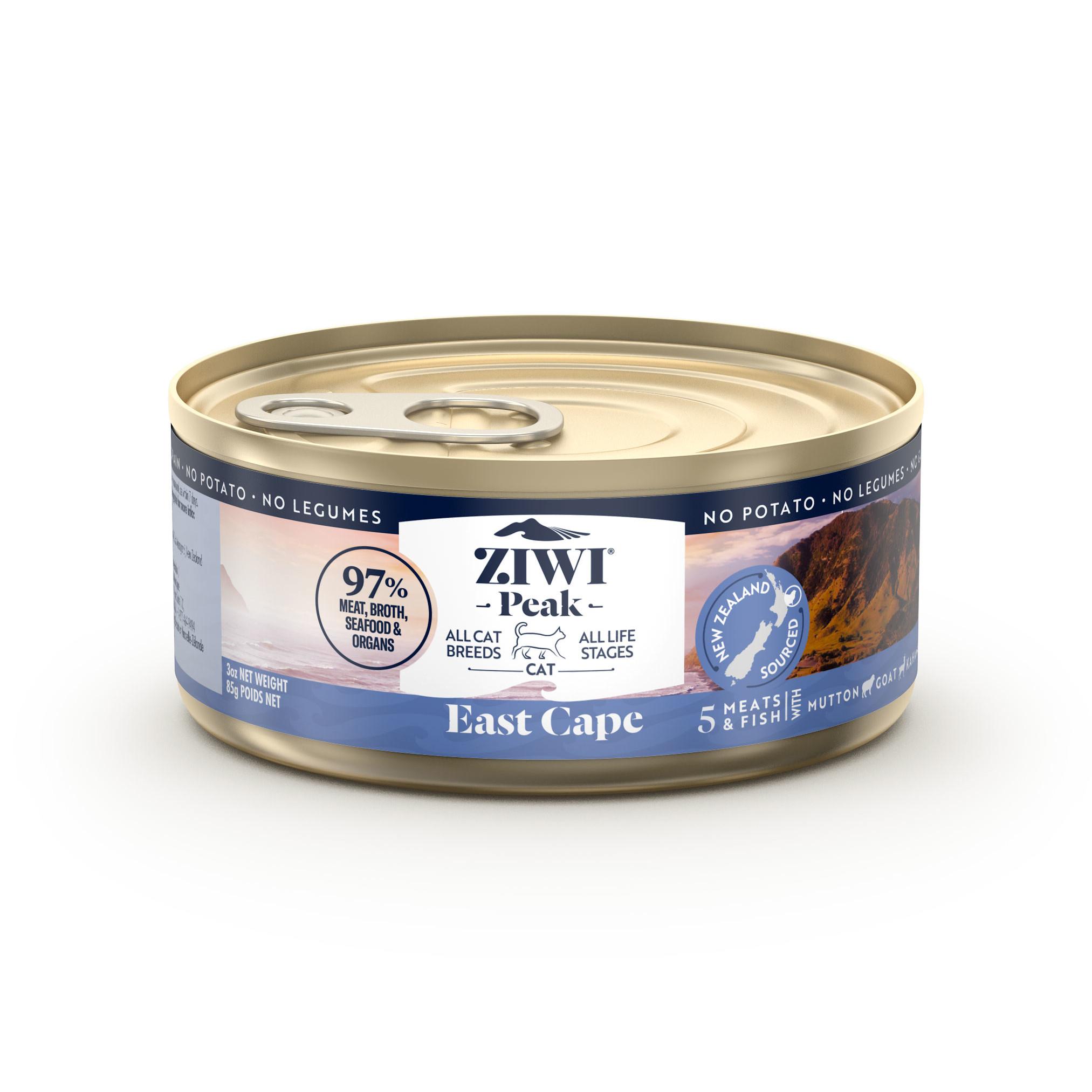 ZIWI Peak Provenance Canned Cat Food East Cape Recipe, 3-oz