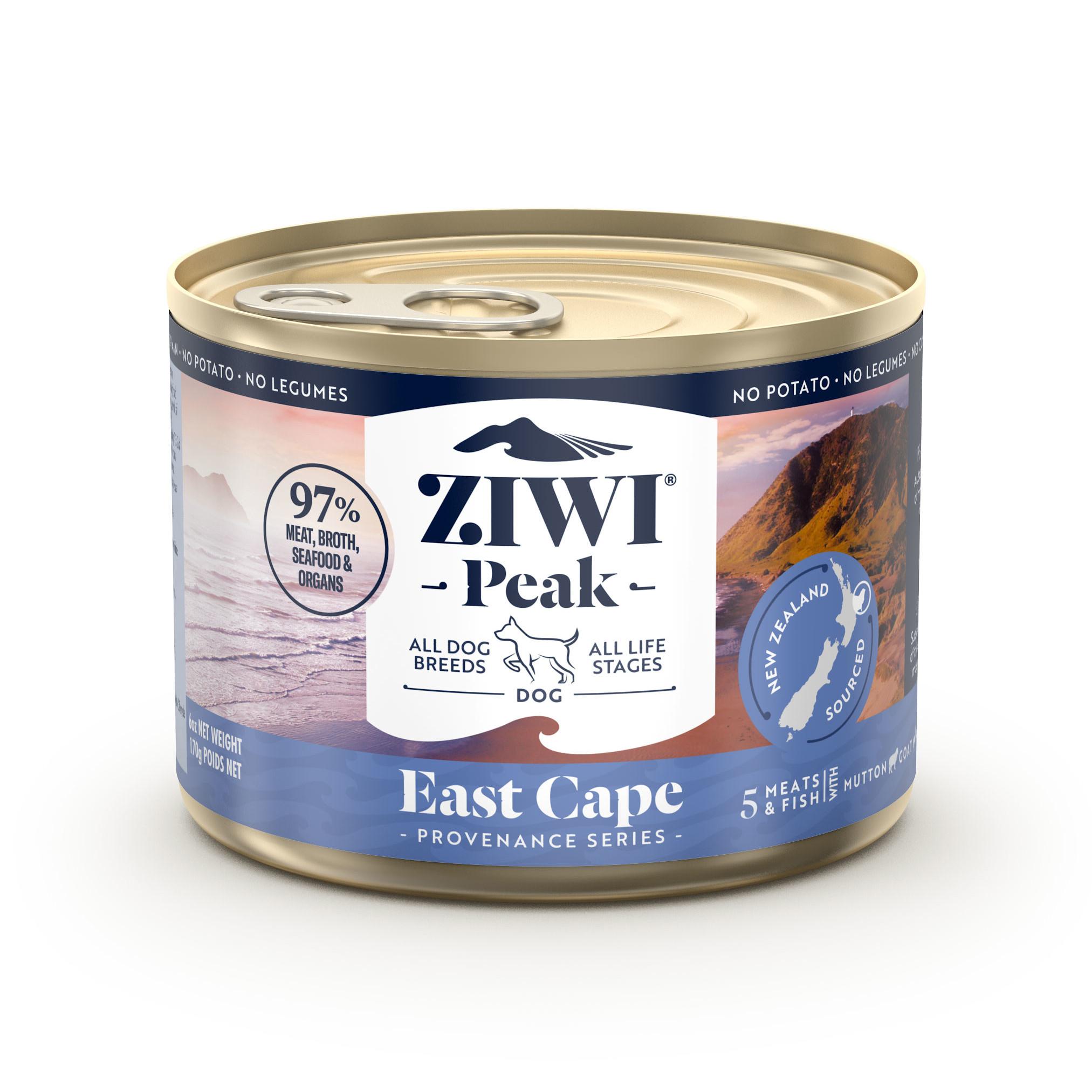 ZIWI Peak Provenance Canned Dog Food East Cape Recipe, 6-oz 170-g
