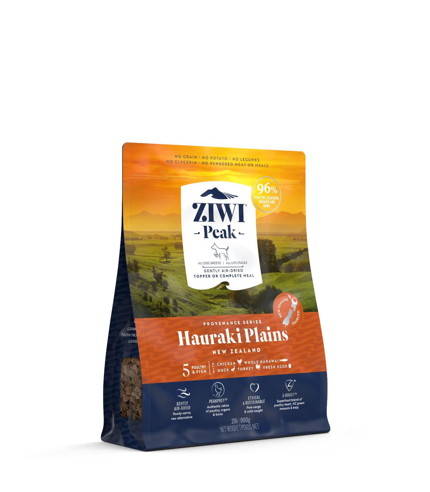 ZIWI Peak Provenance Air-Dried Dog Food Hauraki Plains Recipe, 2-lb