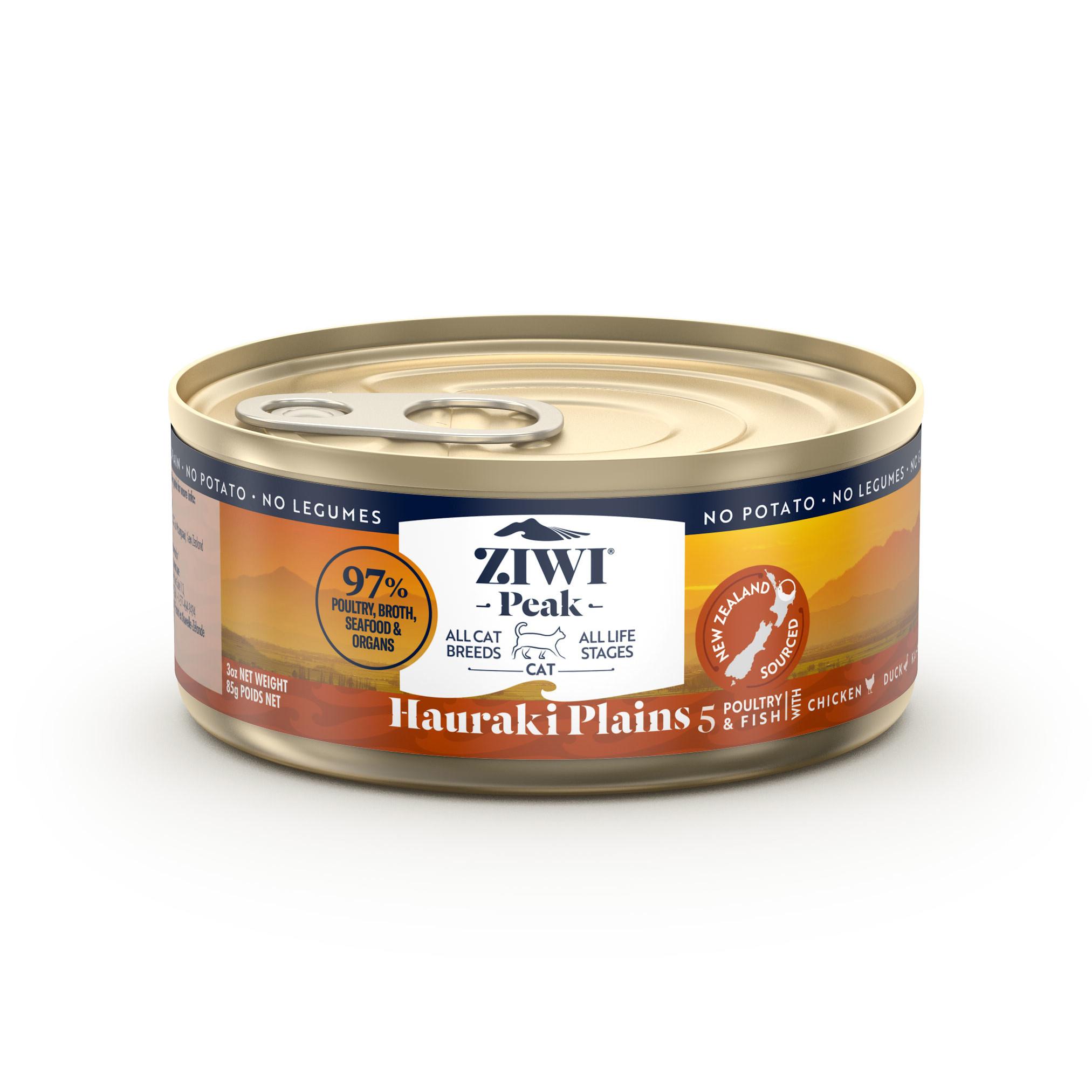 ZIWI Peak Provenance Canned Cat Food Hauraki Plains Recipe, 170-g