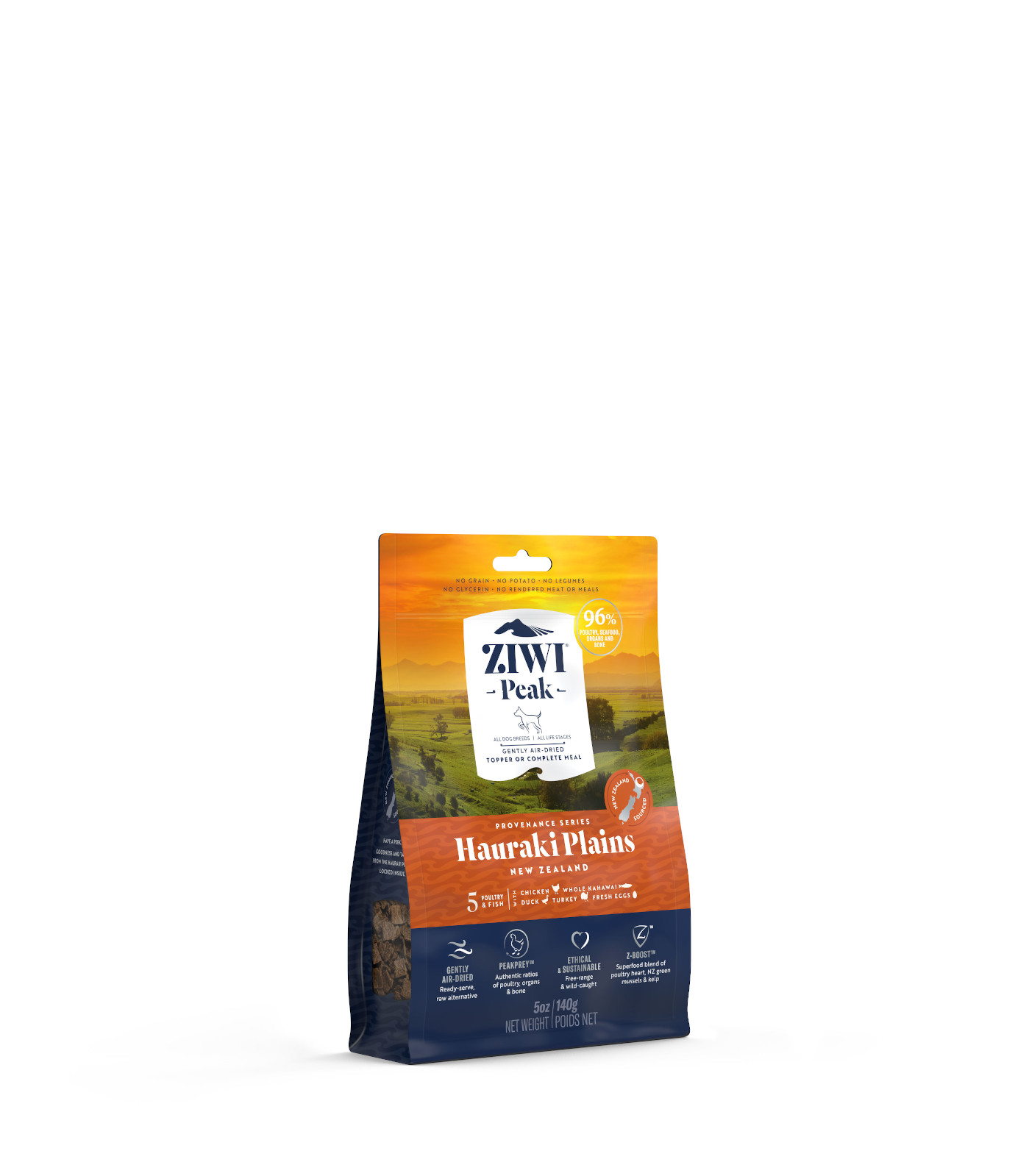 ZIWI Peak Provenance Air-Dried Dog Food Hauraki Plains Recipe, 5-oz