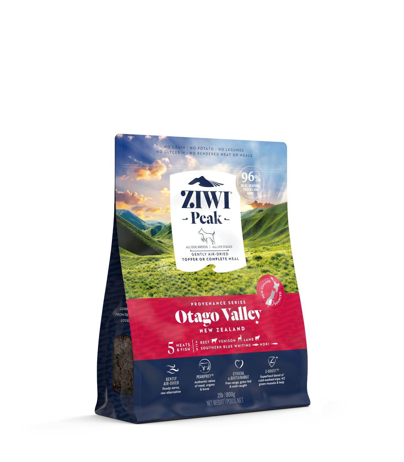 ZIWI Peak Provenance Air-Dried Dog Food Otago Valley Recipe, 2-lb|900-g