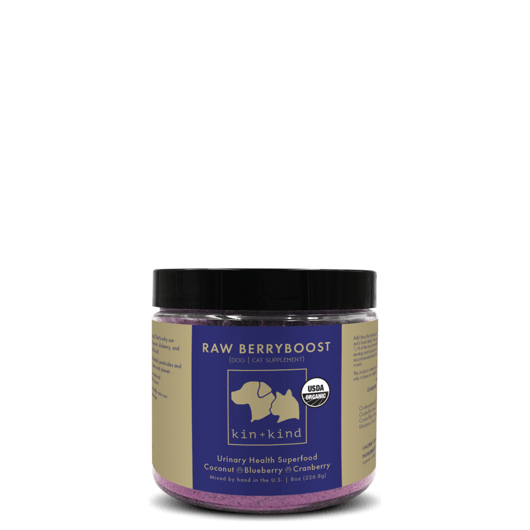 kin+kind Raw Berryboost Superfood Supplement For Dogs & Cats, 8-oz