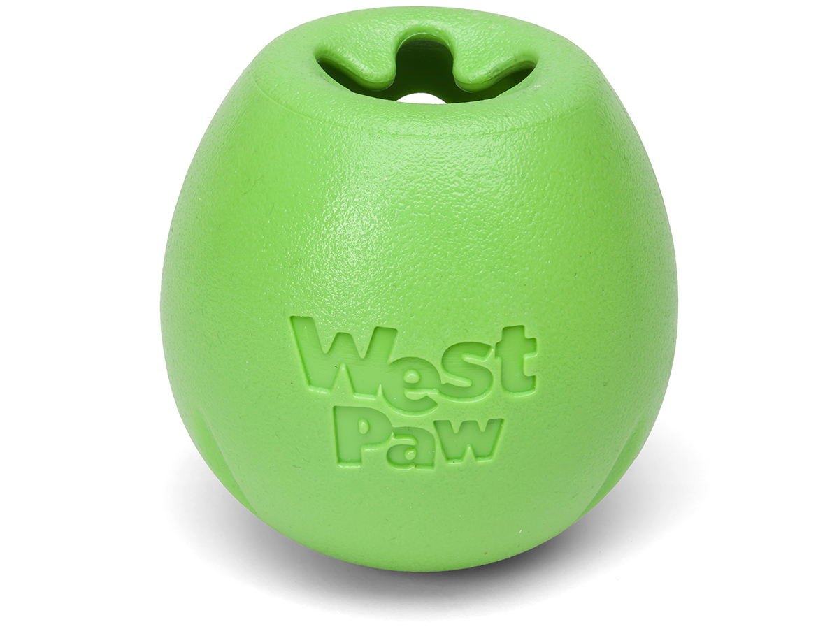 West Paw Rumbl Dog Toy, Jungle, Small