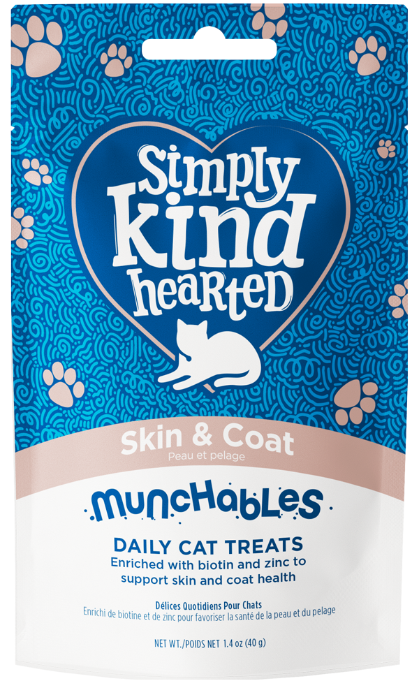 Simply Kind Hearted Cat Munchables, Skin & Coat Image