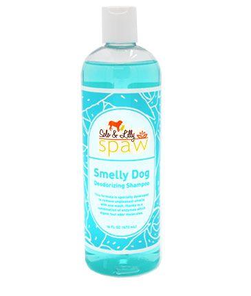 Solo & Lilly Spaw Smelly Dog Deodorizing Dog Shampoo, 16-oz