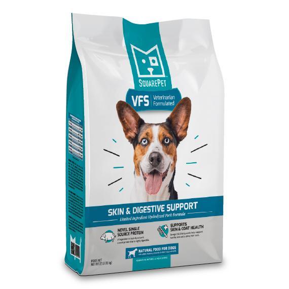 SquarePet VFS Skin & Digestive Support Formula Dry Dog Food, 22-lb