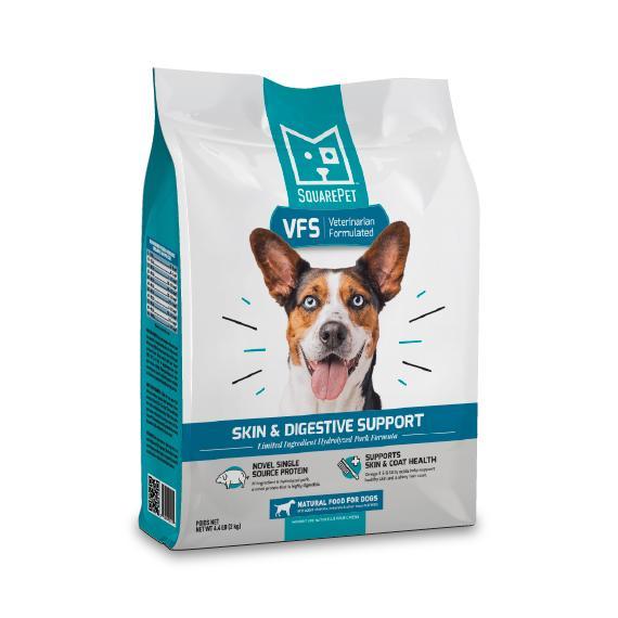 SquarePet VFS Skin & Digestive Support Formula Dry Dog Food, 4.4-lb