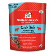 Stella & Chewy's Dandy Lamb Frozen Dinner Morsels Intropak Dog Food, 8.5-oz bag (Size: 8.5-oz bag) Image