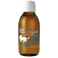 Baie Run Feline Omega 3 Cat Supplement, 140-ml (Size: 140-ml) Image