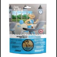 Lazy Kitty Catnip Delight Soft Treats Salmon Grain-Free Cat Treats, 85-gm