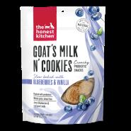 The Honest Kitchen Goat's Milk N' Cookies Blueberry & Vanilla Dog Treats, 8-oz