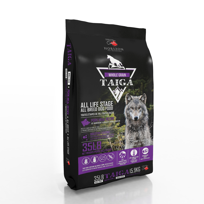 Horizon Taiga Whole Grain Pork Dry Dog Food, 15.9-kg