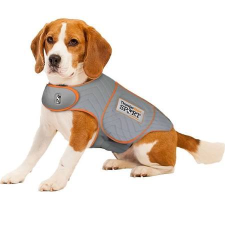 ThunderShirt SPORT Platinum Anxiety & Calming Solution for Dogs, Heather Grey, Large