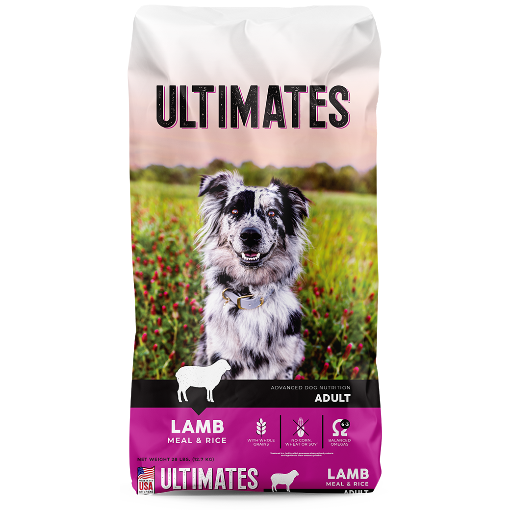Ultimates Lamb & Rice Dry Dog Food, 28-lb