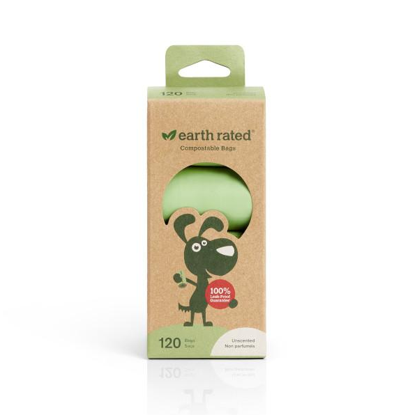 Earth Rated Poop Bags Refill Pack, Compostable, Unscented Image