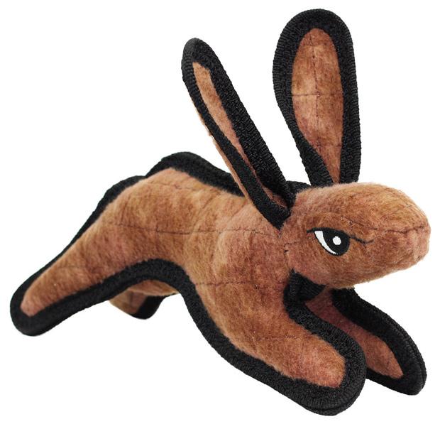 Tuffy's Barnyard Rabbit Dog Toy, Junior