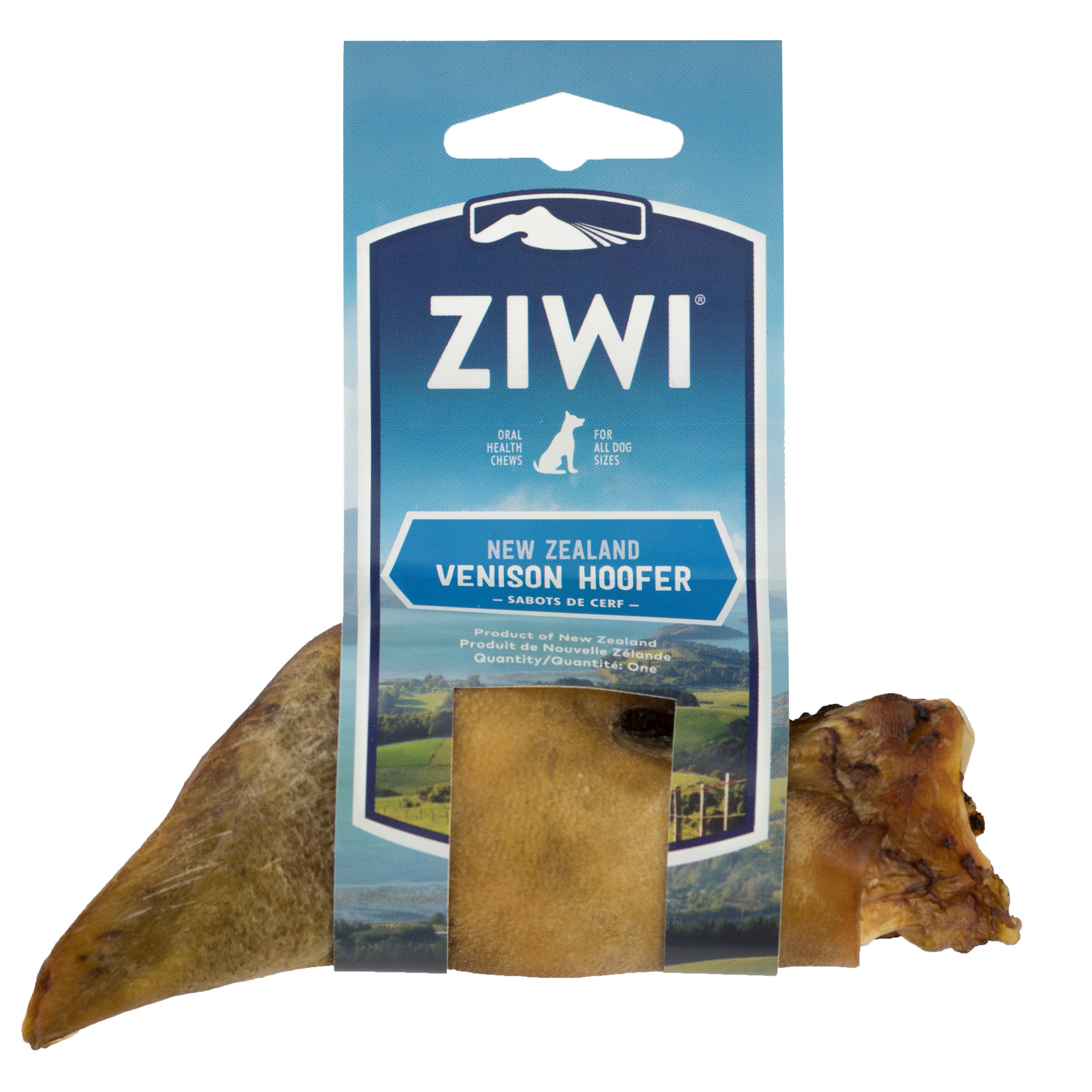 ZIWI Venison Hoofer Oral Chew for Dogs, 1 count