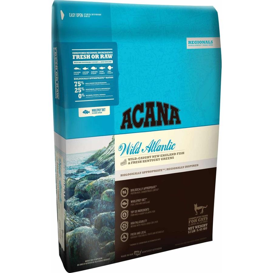 ACANA Regionals Wild Atlantic Dry Cat Food, 12-lb