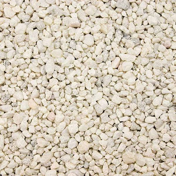 Estes Special Gravel for Freshwater Aquariums, White, 25-lb bag